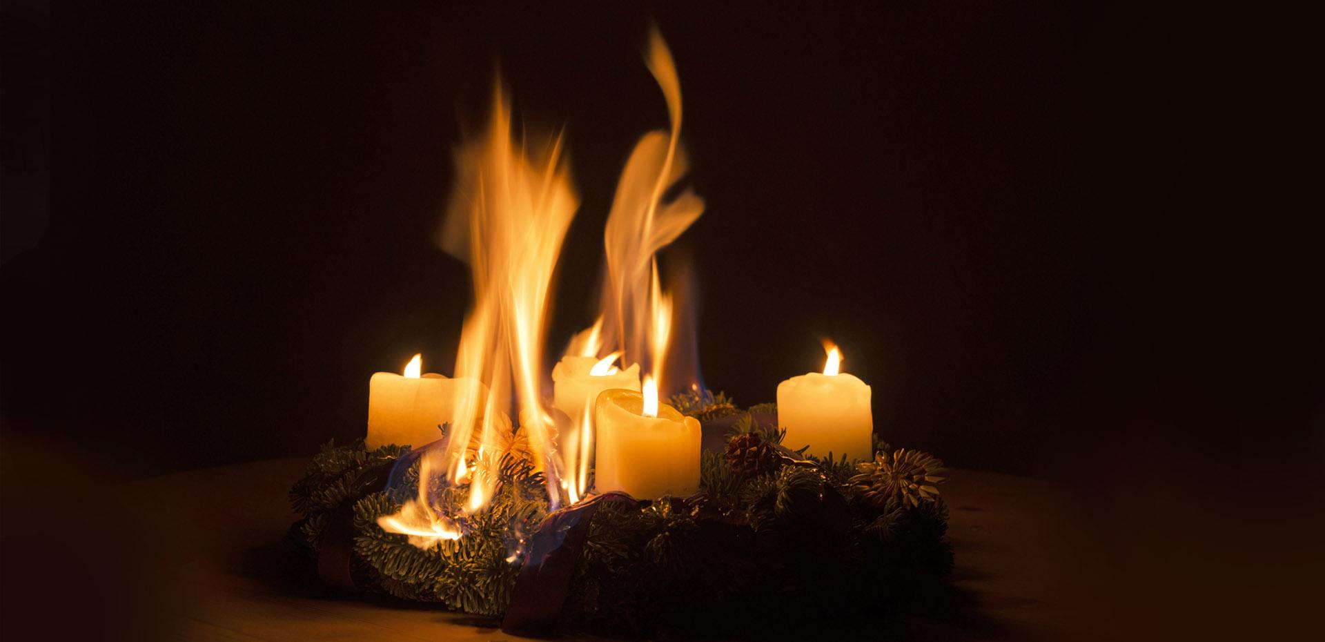 Sichere Advents- und Weihnachtszeit