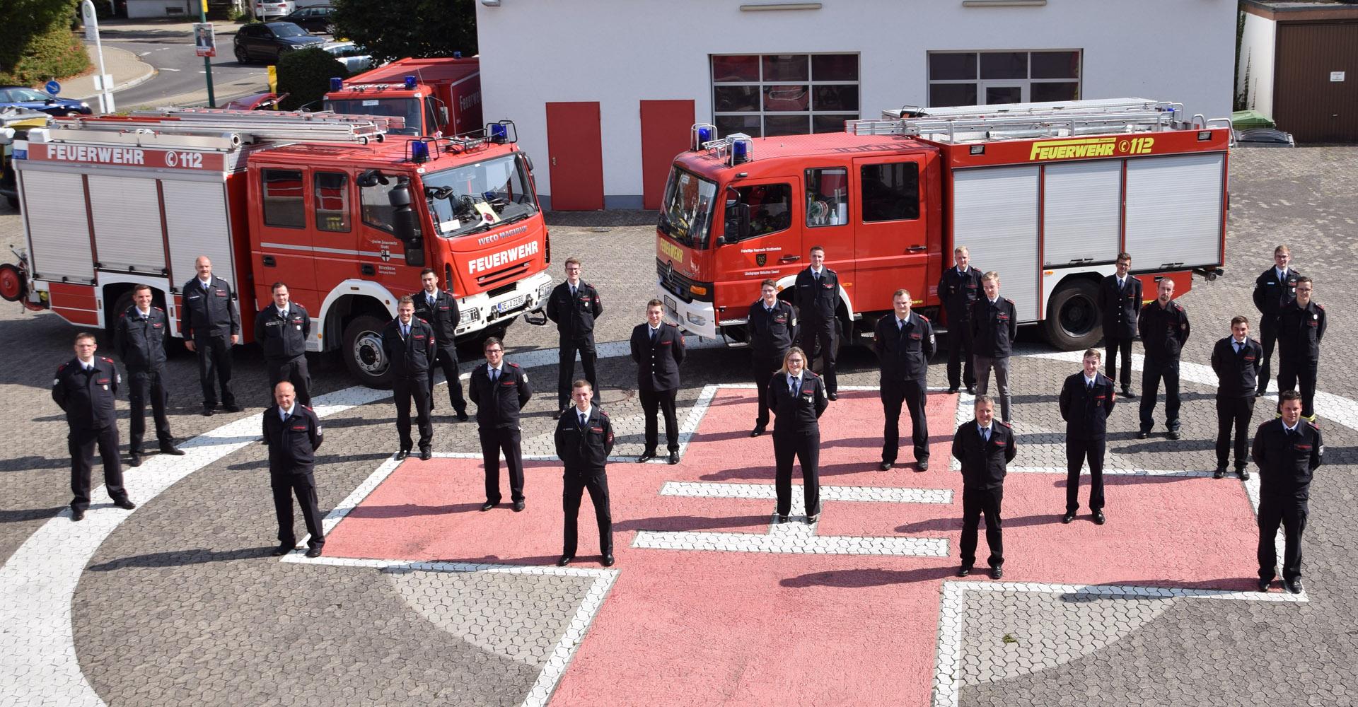 25 Feuerwehrkräfte aus dem Kreis Olpe weiter ausgebildet